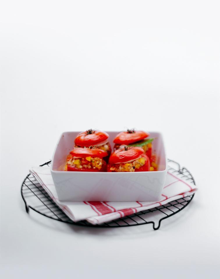 Rezept Gefuellte Tomaten vegetarisch