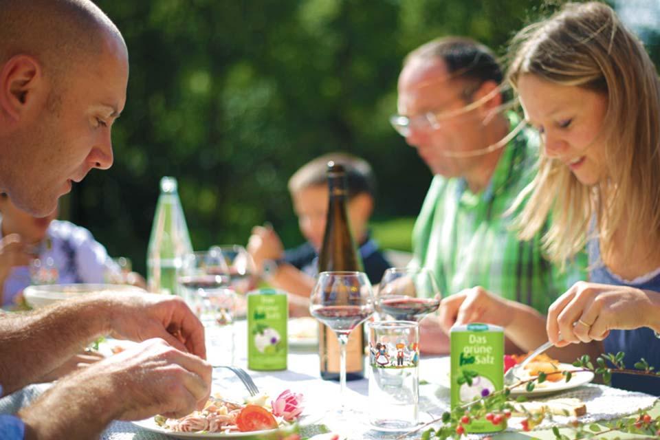 Das grüne Salz bestes Bio-Kräutersalz. Würzsalz für jedes Gericht