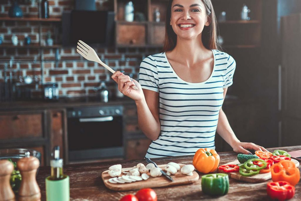 Gesunde Gemüse-Küche gelingt so einfach mit dem perfekten Würzsalz. Das grüne Salz.