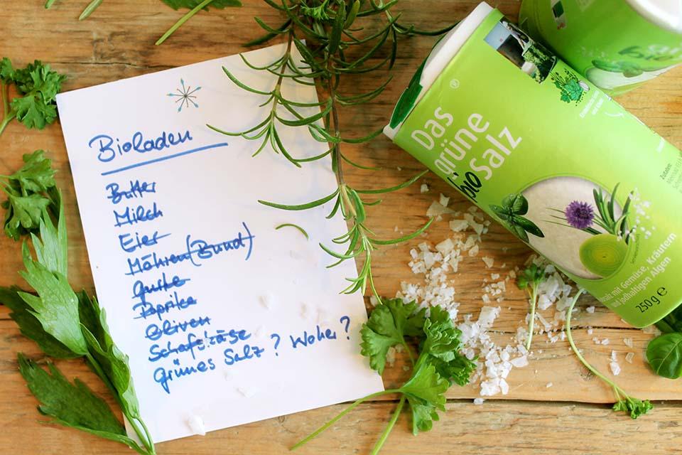 Das grüne Salz Wo gibt es Bio Kräutersalz zu kaufen