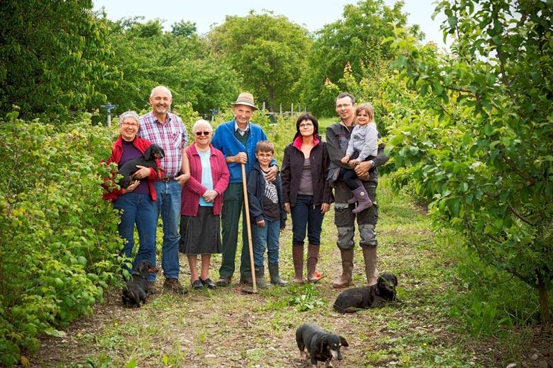 Familie Schmidt von Ferme Pulvermühle